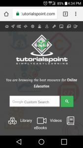 Tutorialspoint... Best all-around at Learning Resource on the web